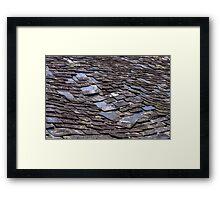 Shingles Framed Print