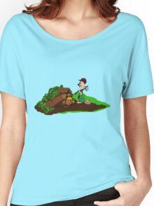 Holzfäller Comic Women's Relaxed Fit T-Shirt
