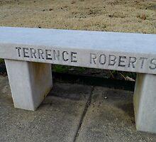 Terrence Robert's Bench by WildestArt