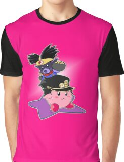 Kirby's Bizarre Adventure Part 3 Graphic T-Shirt