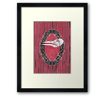 There Might Still Be Time: Imperial Woodpecker Framed Print