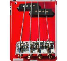 Fretless Bass iPad Case/Skin