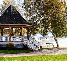 Gazebo at Skaneatles Lake by Mary Ellen Tuite Photography