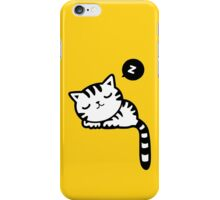Cute Sleeping Kitty Cat iPhone Case/Skin