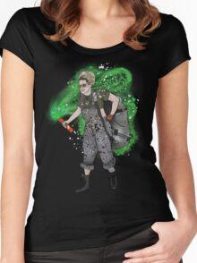 Jillian Holtzmann Pringle Adventure  Women's Fitted Scoop T-Shirt
