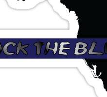 Back the Blue Florida Sticker