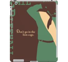Junior Adventurer, Emil Bleehall iPad Case/Skin