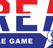 C.R.E.A.M. Hustle Game Sticker