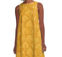 Vintage Seashells Mango A-Line Dress
