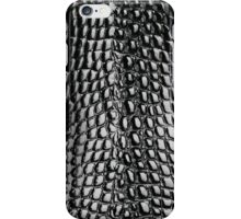 Faux Patent Leather Crocodile Design iPhone Case/Skin