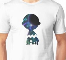 Snoopy And Charlie Space Art Unisex T-Shirt