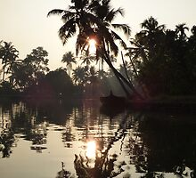 Dusk on the Backwaters by Sylvie Lebchek