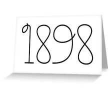 zeta tau alpha 1898 Greeting Card
