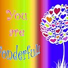 You are Wonderful! by heidiannemorris