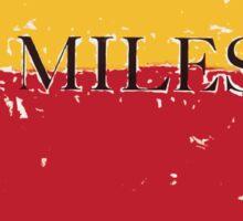 Miles Sticker
