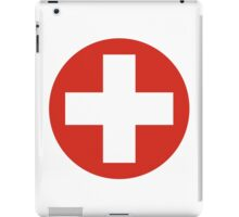 Swiss Air Force - Roundel iPad Case/Skin