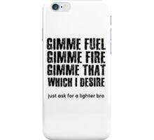 Fuel Metallica Funny Joke Humor Pun iPhone Case/Skin