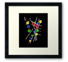Decorative abstraction Framed Print