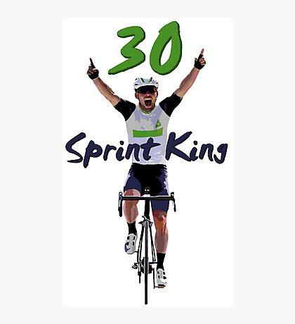 Sprint King Photographic Print