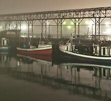 Fishing boats by awefaul