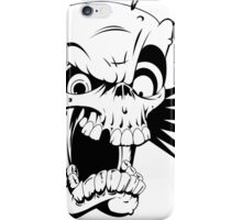 Psycho skull iPhone Case/Skin