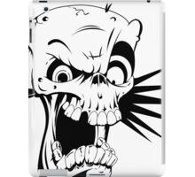 Psycho skull iPad Case/Skin