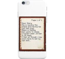 Nova's Diary iPhone Case/Skin