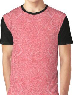 Vintage Triskle Celtic Trinity Knot Firecracker Red Graphic T-Shirt