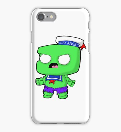 Stay Angry iPhone Case/Skin