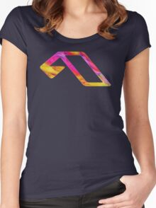 Anjunabeats Colors  Women's Fitted Scoop T-Shirt