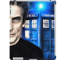 Doctor Who - Portrait of 12th iPad Case/Skin