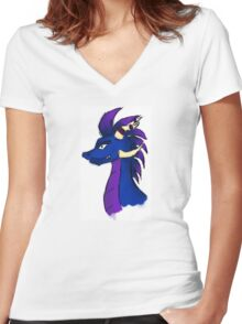 Mythical creature Women's Fitted V-Neck T-Shirt
