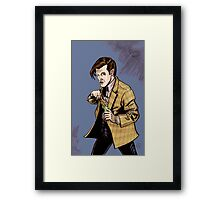 The Doctor...Geronimo!!! Framed Print