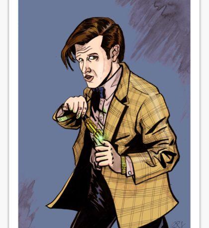 The Doctor...Geronimo!!! Sticker