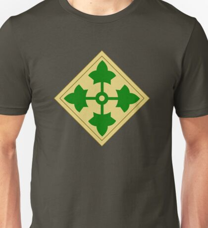 4th Infantry Division (United States) Unisex T-Shirt