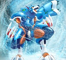 Lunaedge - Mega man Zero 4 by John Pifer