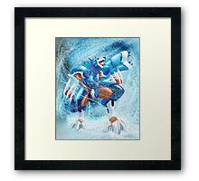 Lunaedge - Mega man Zero 4 Framed Print