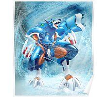 Lunaedge - Mega man Zero 4 Poster