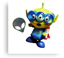 Toy Story Alien Unmask Canvas Print