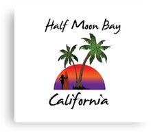 Half Moon Bay California Canvas Print