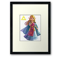 Zelda (triforce) Framed Print