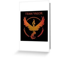Pokemon Valor Team Greeting Card