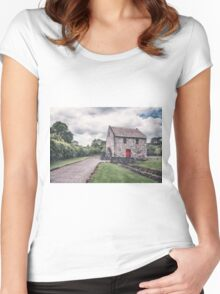 Wheels Of Time Women's Fitted Scoop T-Shirt