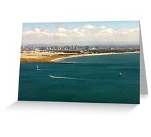 San Diego from Point Loma Greeting Card