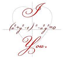 I (Heart-shaped Curve) You. by noahhk