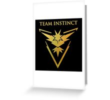 Pokemon Instinct Team Greeting Card