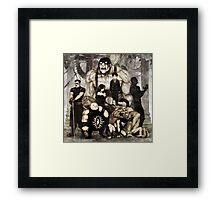 7 Deadly Sins Framed Print