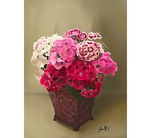 A Mothers Day Bouquet  Photographic Print
