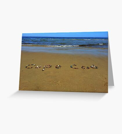 Cape Cod in rocks Greeting Card