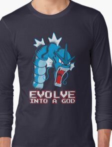 Evolve into a GOD Long Sleeve T-Shirt